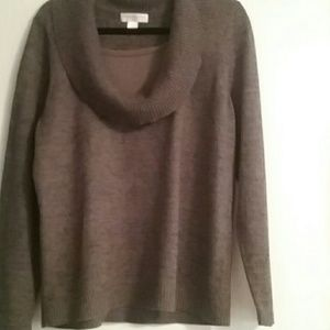 Sweater Brown Cowl neck